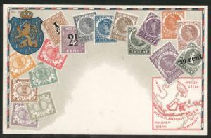 Netherland Indies Ottmar Zieher Munich #80 Flat Unused