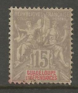 GUADELOUPE, 35, NG, COLONIES