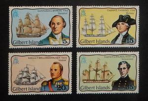 Gilbert Islands 296-99. 1977 Explorers