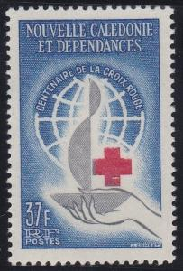 New Caledonia 328 MNH (1963)