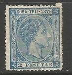 Cuba TELEGRAPHS EDIFIL 36 MNG I273-2