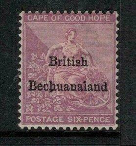 Bechuanaland 1885-1887 SC 8 Mint SCV $220.00