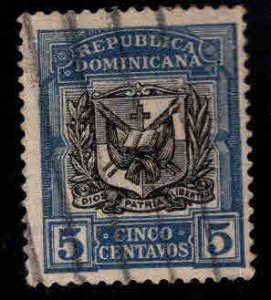 Dominican Republic Scott 175 Used coat of arms stamp