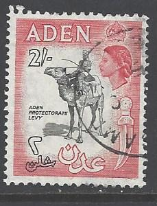 Aden  Sc # 57A used (RS)