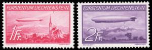 Liechtenstein #C15-C16 MNH CV$160 [147488]