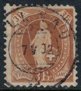 Switzerland #88  CV $22.50