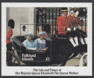Falkland Islands 424 Queen Mother SS mnh