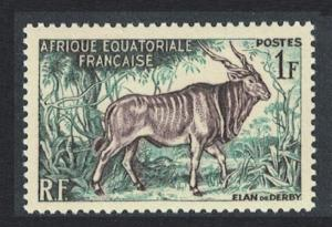 Fr. Eq. Africa Eland Antelope 1v SG#288 SC#195