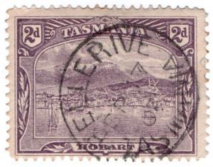 (I.B) Australia Postal : Tasmania Postmark 2d (Bellerive)