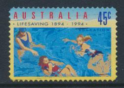 Australia SG 1443  Used  self adhesive -Life saving