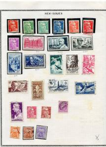 FRANCE LOT V  OF MINT & USED STAMPS AS SHOWN