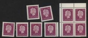 Canada - 1987 36c Purple QE X 10 mint #926A