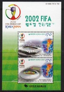 KOREA 2000 WORLD CUP KOREA JAPAN FIFA COUPE DU MONDE SOCCER FUSSBALL [#0006]