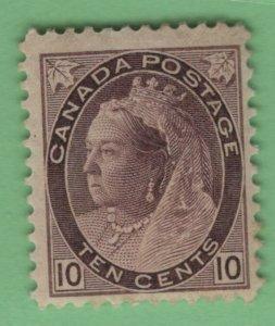 $Canada Sc#83 M/H/F-VF, DG, Cv. $450