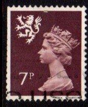 Scotland - #SMH8 Machin Queen Elizabeth II - Used
