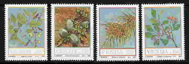 VENDA 1987 FOOD OF THE VELD TYPE - AFRICAN FLORA SET!