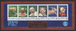 1999 Alderney Diving Club M/S U/Mint SGMSA115
