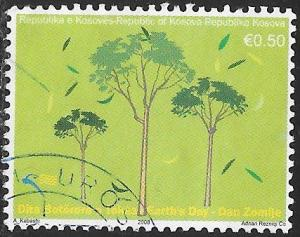 U.N. Kosovo 98 Used - Earth Day - Trees
