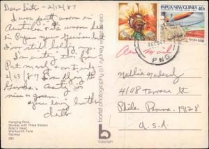 Papua New Guinea, Picture Postcards
