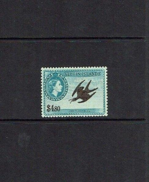 British Virgin Islands: 1956, $4.80, Frigate Bird, Mint