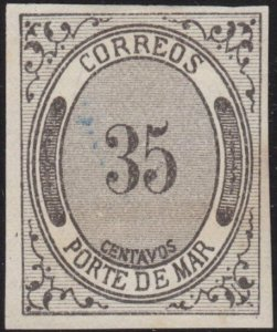 MEXICO  An old forgery of a classic stamp..................................69203