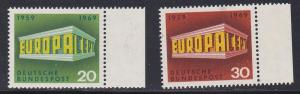 Germany # 996-997, Europa, NH, 1/2 Cat.