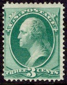 US Stamp #147 3c Green Washington MINT NO GUM SCV $80