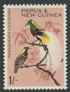 Papua New Guinea- Scott -193 - General Issue - 1964-65 - MNH -Single  1/- Stamp