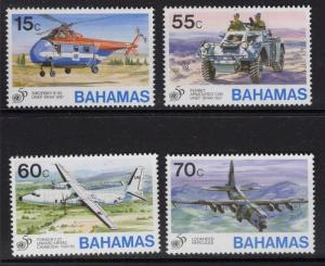 BAHAMAS SG1048/51 1995 50th ANNIV OF UNITED NATIONS   MNH