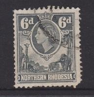 Northern Rhodesia Sc#68 Used