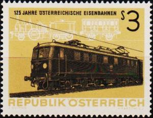 Austria. 1962 3s S.G.1392 Unmounted Mint