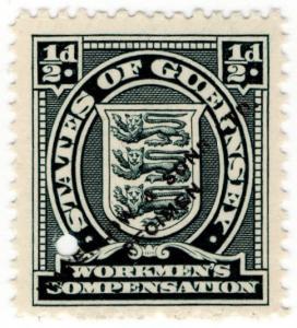 (I.B-CK) Guernsey Revenue : Workmen's Compensation ½d
