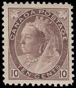 Canada Scott 83 Variety Gibbons 163 Mint Stamp