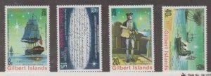 Gilbert Islands Scott #300-303 Stamp - Mint NH Set