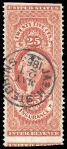 U.S. REV. FIRST ISSUE R46b  Used (ID # 86899)