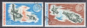 MALAGASY SCOTT #C131-32  1974 CTO SPACE SEE SCAN