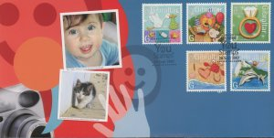 Gibraltar 1088-97 FDC cover fun greetings (2110 163)