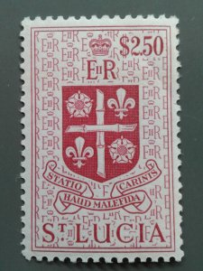St. Lucia 169 F-VF MLH. See note. Scott $ 6.75