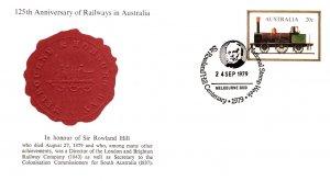 Australia, Postal Stationary, Trains
