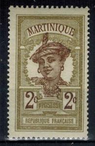 Martinique - Scott 63 MH