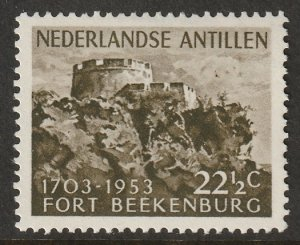 Netherlands Antilles 1953 Sc 230 MH*
