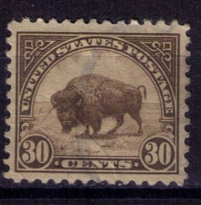 US Scott #569 Used 30c Olive Brown Very Fine