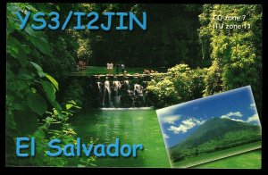 QSL QSO RADIO CARD El Salvador,Roberto Torri,Corinto(Morazan), C.A. (Q2998)