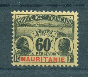 Mauritania sc# J7 mh cat value $15.00