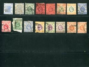 Hong Kong Classic lot Used F-VF