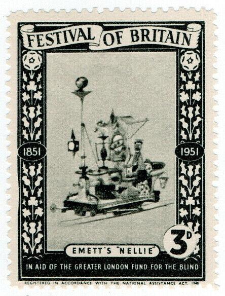 (I.B) Cinderella Collection : Festival of Britain - Emett's Nellie 3d