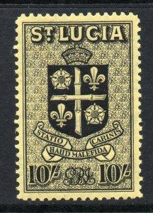 St Lucia 1938 KGVI 10/- SG 138 mint
