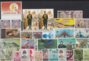 thailand collectable stamps ref r12349