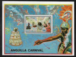 Anguilla #893 MNH S/Sheet - Carnival