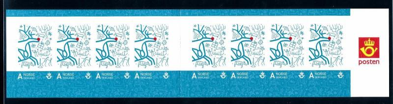 [59904] Norway 2007 Personal christmas stamp Self Adhesive booklet MNH